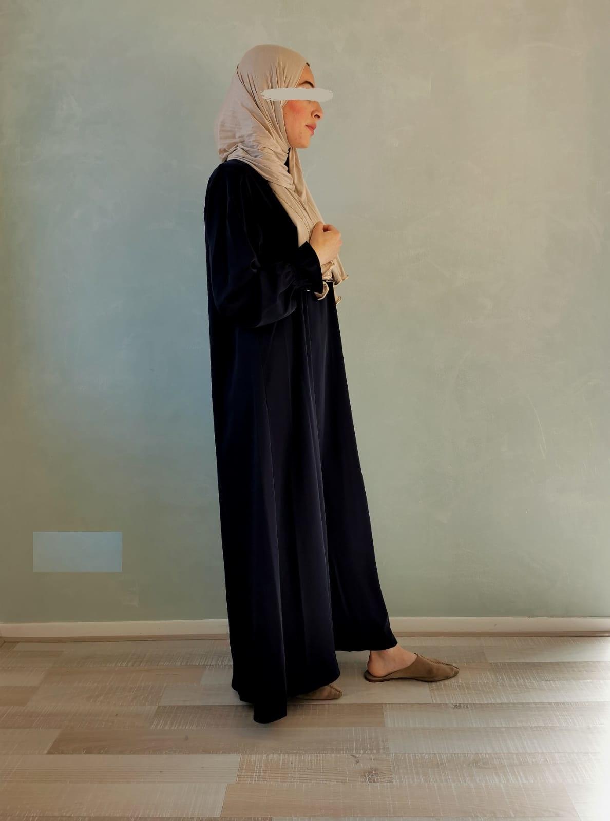 Abaya Salina zwart