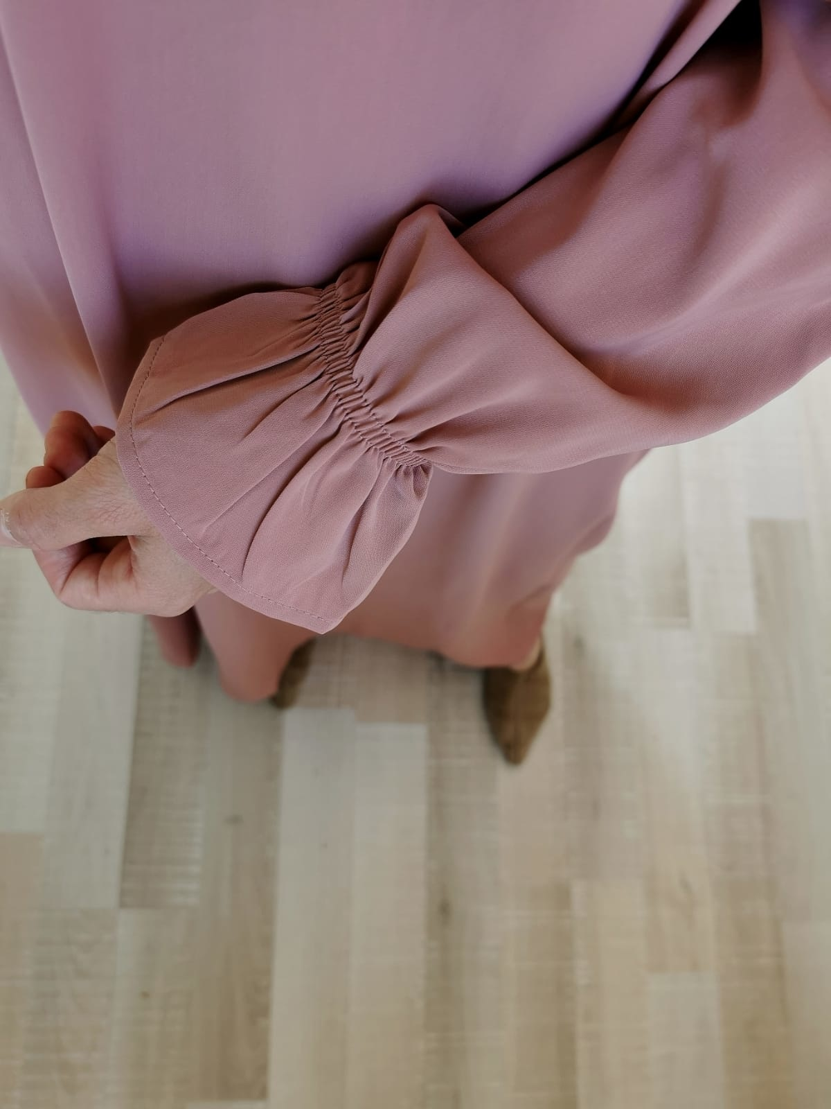 Abaya Salina roze
