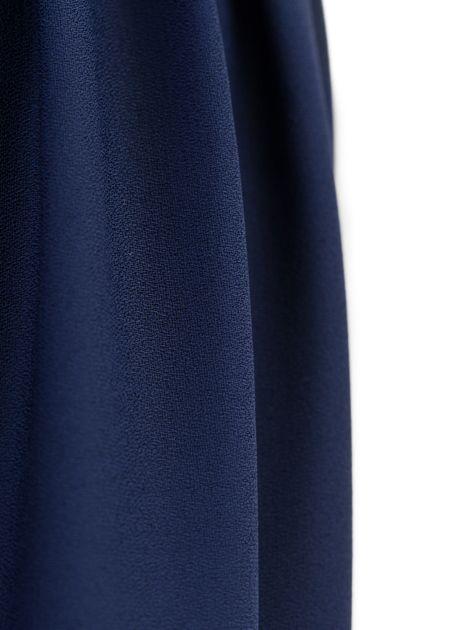 92b7c9efcfd0da Lange maxi rok monica blauw - le boutique
