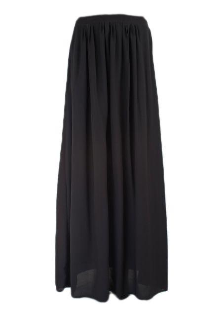 Maxi rok monica zwart