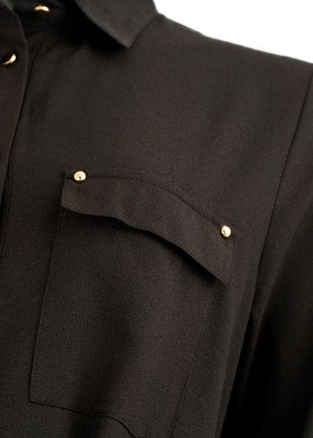 Maxi jurk cypress zwart