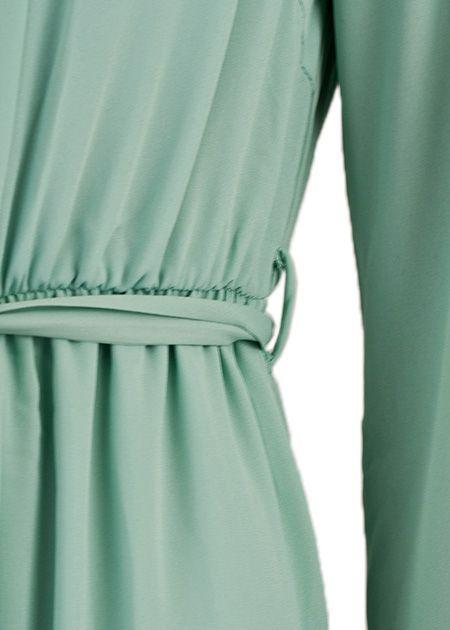 Maxi jurk Palmdale mintgroen