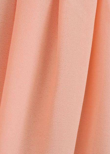Lange maxi rok monica roze
