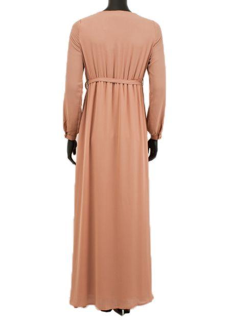 maxi jurk 087 Palmdale oud roze