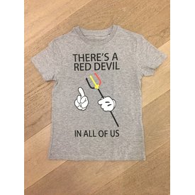 trendy & rare T&R Red devil t-shirt