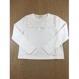 Liu Jo junior G68184J0088 t-shirt m/l pearls