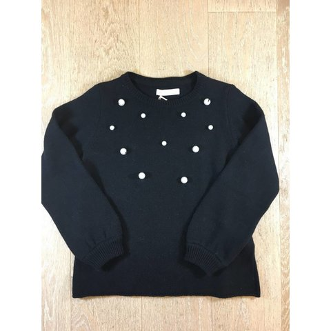 Ricin-M042 pull m/l col rond + details perles