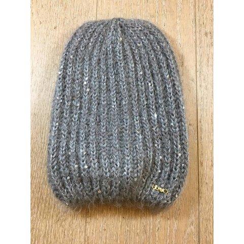G68175MA54H cappello maglia paillettes