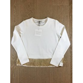 Liu Jo junior G68148J7543 t-shirt m/l fringe