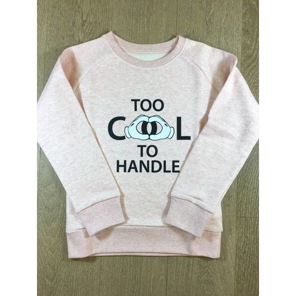 trendy & rare T&R Sweater Too cool to handle