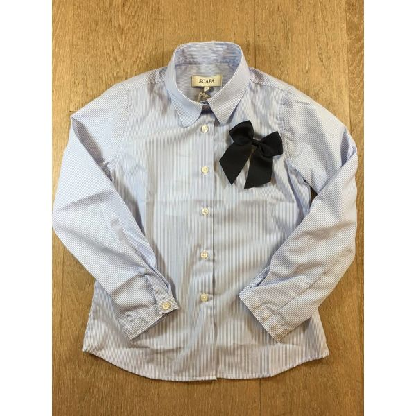 Scapa sports Girls shirt finn met strik finnscsjn