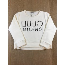 Liu Jo junior G68201F0743 felpa chiusa m/l lettering