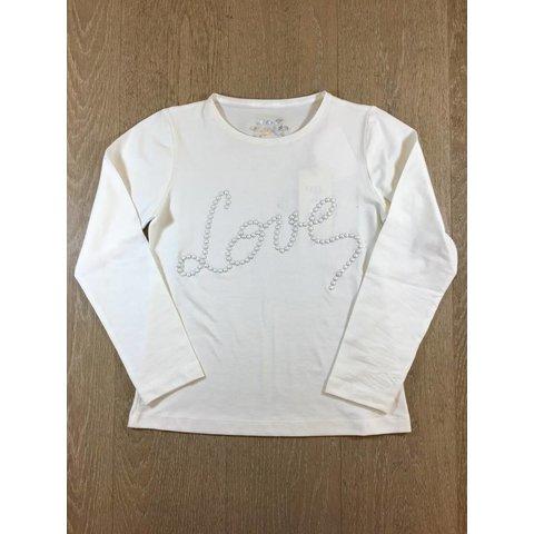 Geranium-M048 tshirt m/l + love perles