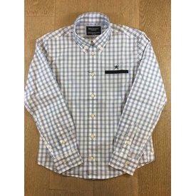 HACKETT hk301324 frozen check shirt Y