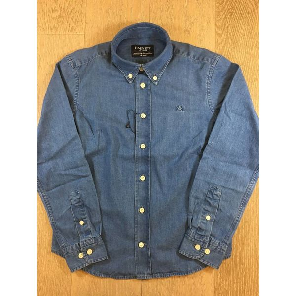 HACKETT hk301326 vintage denim shirt Y
