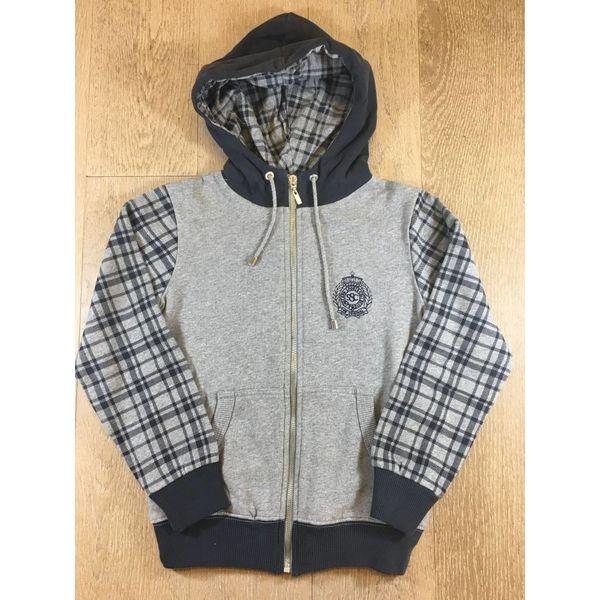 Scapa sports Boys sweater nestor check neschmubc