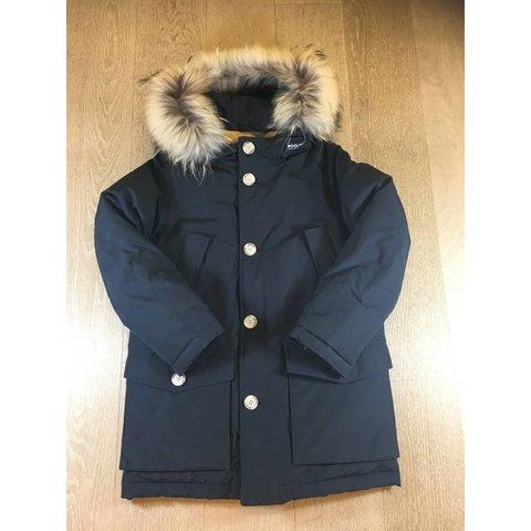 WKCPS2028 boys parka detachable fur