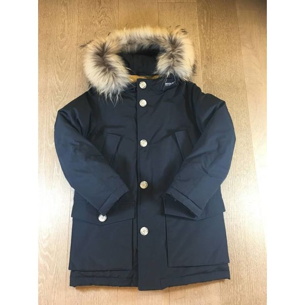 Woolrich WKCPS2028 boys parka detachable fur