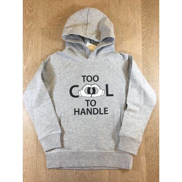 trendy & rare T&R Hoodie Too cool to handle