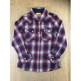 Levi's NM12077 LS shirt redsaw