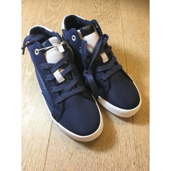 HACKETT hk001129 kids hi top sneaker Y