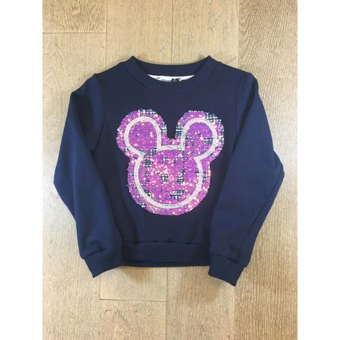 Sweater mickey/chanel