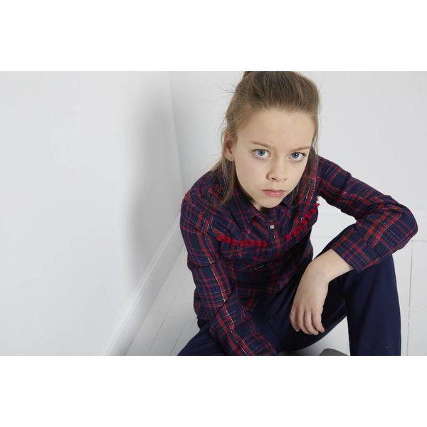 BLUE BAY GIRLS 83200018 bloes wende 'geruit'