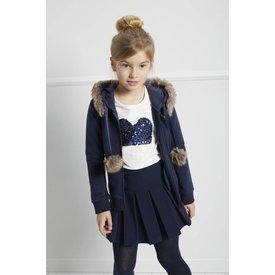 BLUE BAY GIRLS 83830118 tshirt jade 'heart'