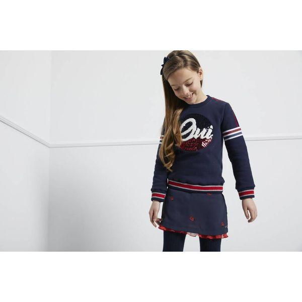 BLUE BAY GIRLS 83600818 sweater zoe 'oui'
