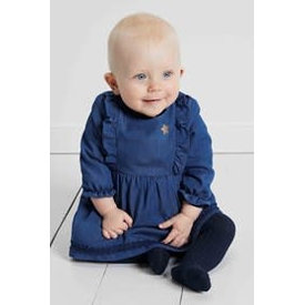 blue bay baby 73120318 kleedje gillia jeans