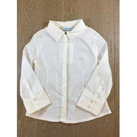Mayoral 4120 elastic poplin blouse