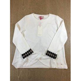 Pinko 1A115U-Y4TZ hazzard blusa jersey/crepe