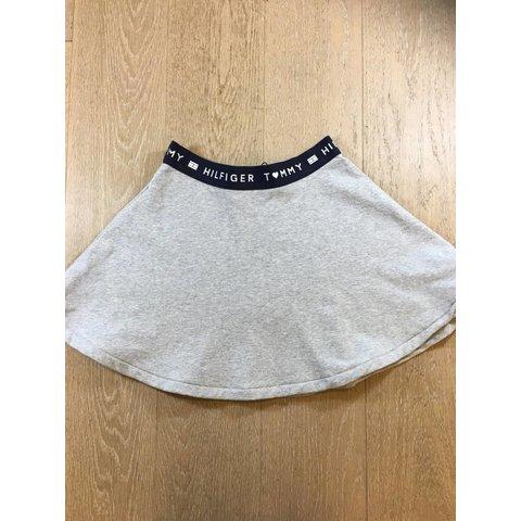 KG03957 brand logo skater skirt
