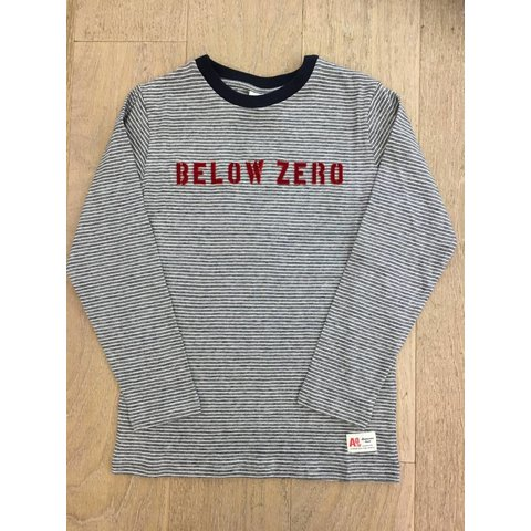 t-shirt below zero