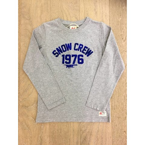 t-shirt snow crew
