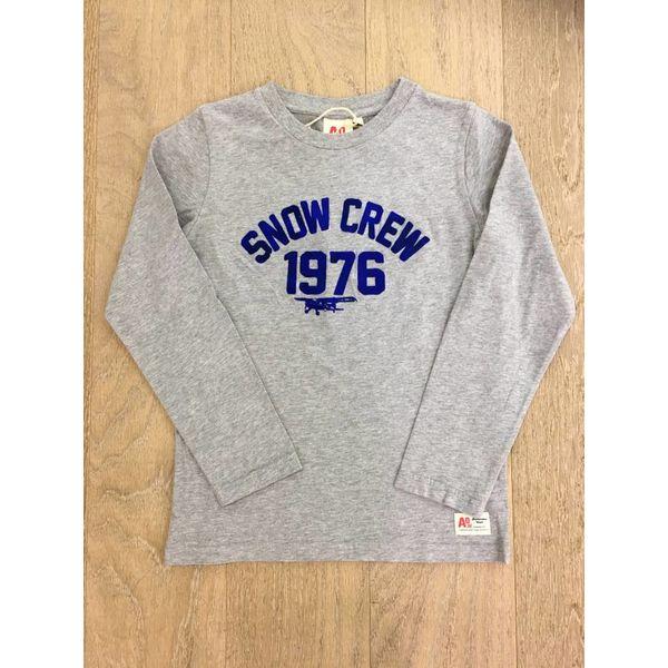 Ao76 t-shirt snow crew