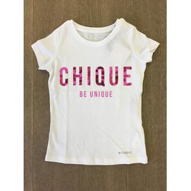 By Chique T-shirt Camouflage pink