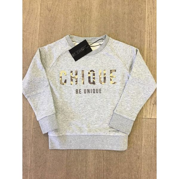 By Chique Sweater Camouflage green