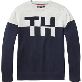 Tommy hilfiger pre KB04042 th colorblock crew neck sweater