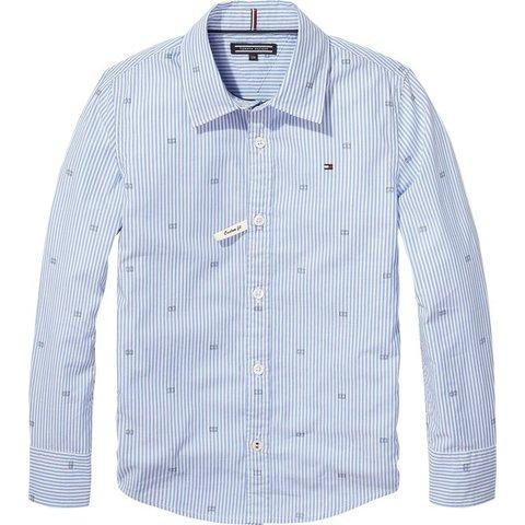 KB04051 essential oxford stripe print shirt
