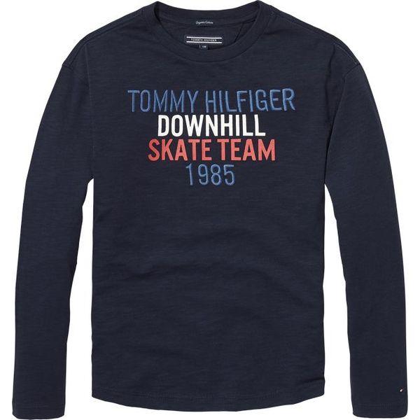 Tommy hilfiger pre KB04079 skateboard print tee l/s