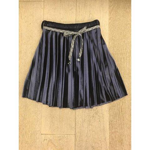 Girls skirt peak velvet plisse peak_velv