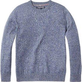 Tommy hilfiger pre KB04184 essential kids crew neck sweater
