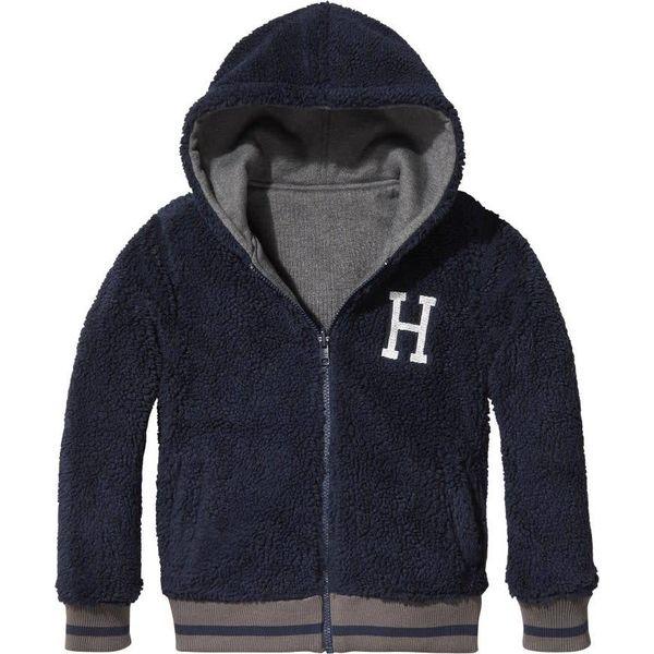 Tommy Hilfiger KB04225 reversible borg hooded jacket