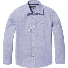 Tommy Hilfiger KB04292 essential printed oxford shirt l/s