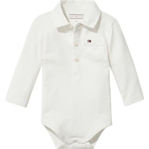 KN00905 baby boy poplin collar body