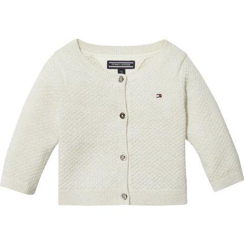 KN00918 baby lurex cardigan