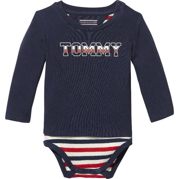Tommy hilfiger newborn KN00906 baby boy t-shirt body
