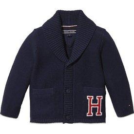 Tommy hilfiger newborn KN00919 baby boy cardigan
