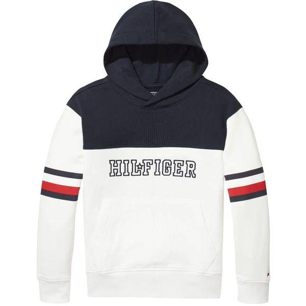 Tommy hilfiger pre KS00014 unisex varsity block hoodie